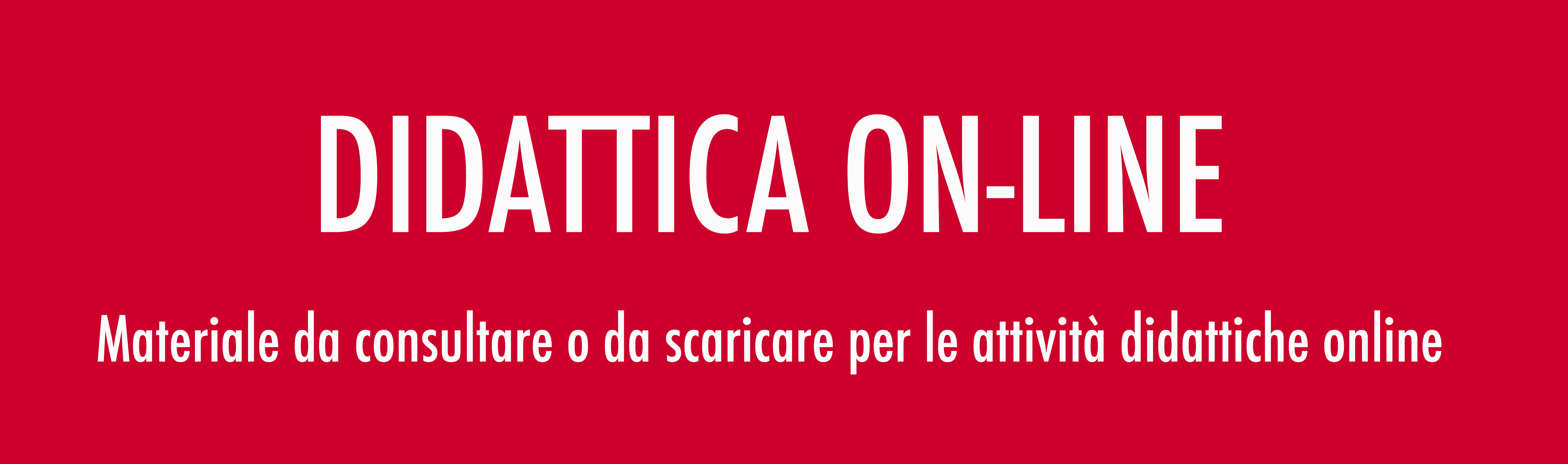 Didattica on-line